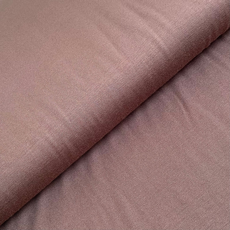Bamboo Jersey - Chocolate Brown - 0.5 metre