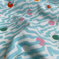 Organic Cotton by Cloud9 - Polkadot Haze - 0.5 metre