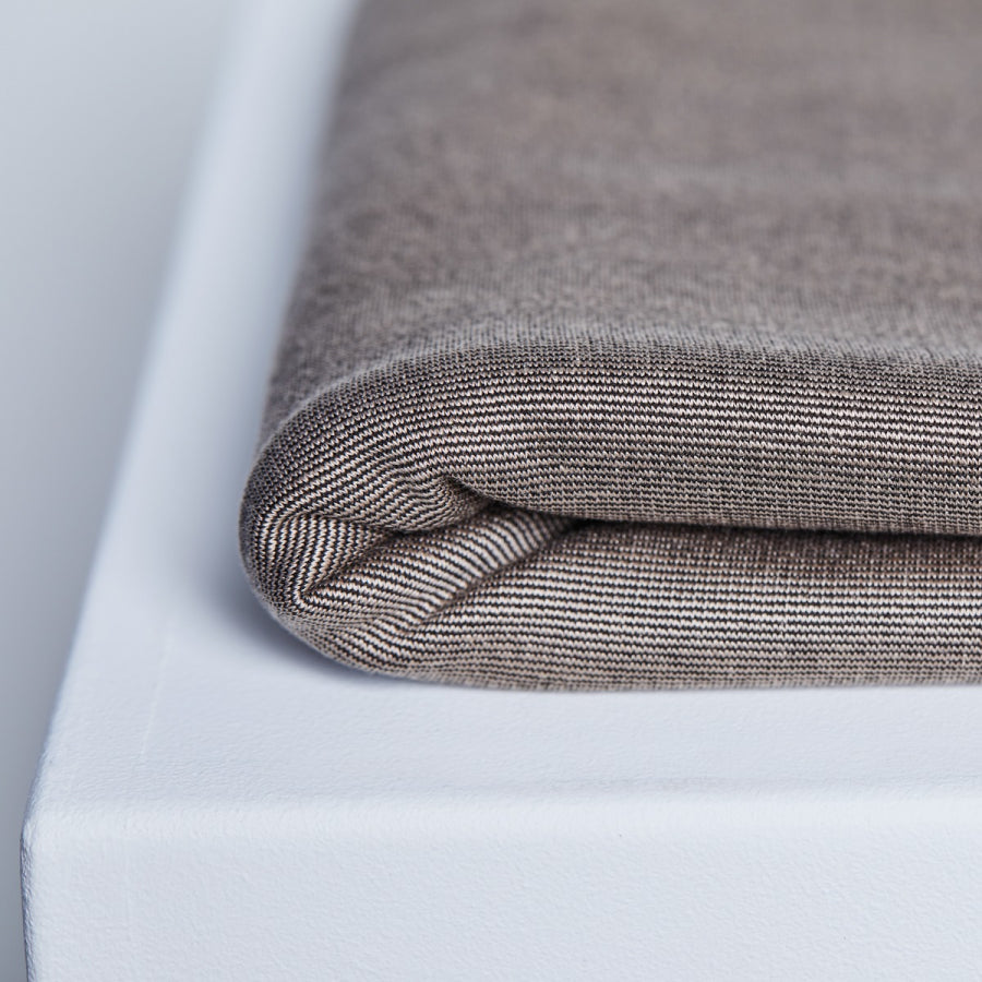 Textured Ponte with TENCEL™ Lyocell fibres - Warm Sand - 0.5 metre