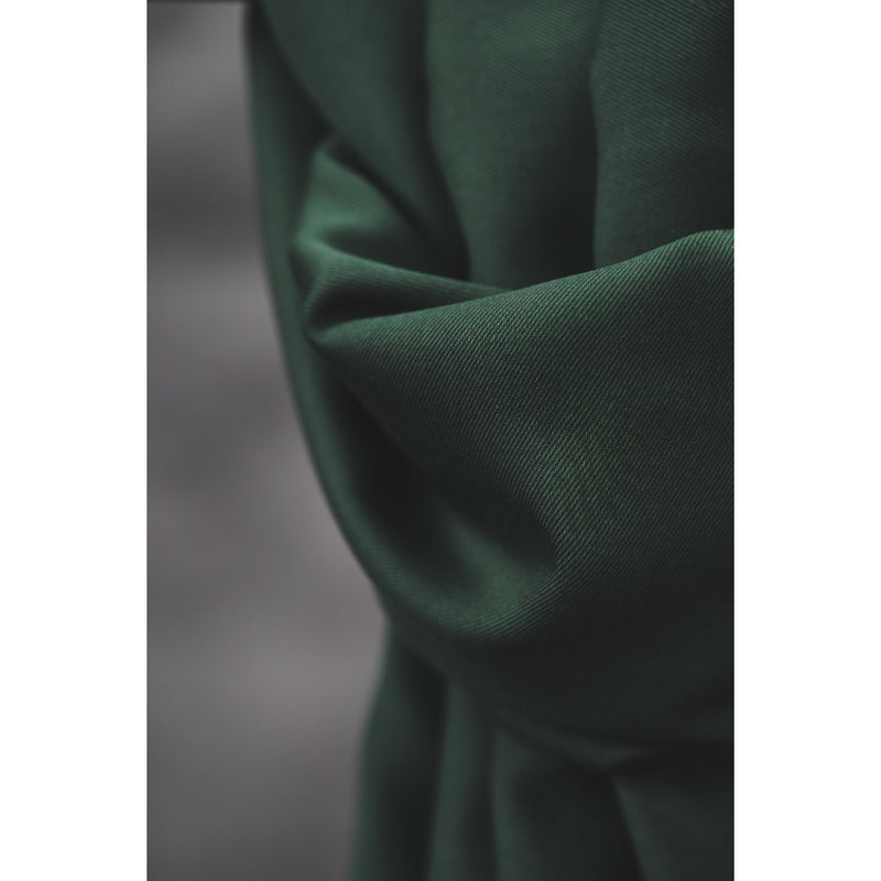Smooth Drape Twill with TENCEL™ Lyocell fibres - Deep Green - 0.5 metre