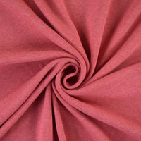 Organic Cotton Interlock Jersey - Coral - 0.5 metre