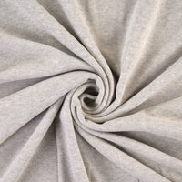 Organic Cotton Interlock Jersey - Sand - 0.5 metre