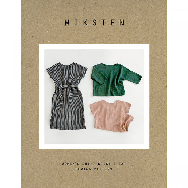 Shift Dress + Top Pattern by Wiksten