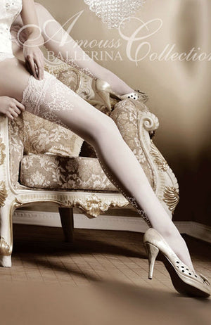 Ballerina 003 Lace Top Hold-ups