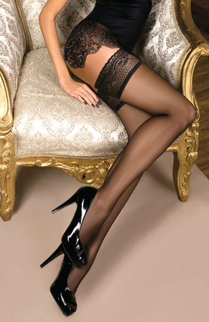 Ballerina 102 Lace Top Hold-ups