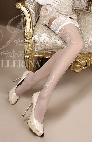 Ballerina 256 Lace Top Hold-Ups
