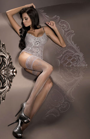 Ballerina 294 Lace Top Hold-Ups
