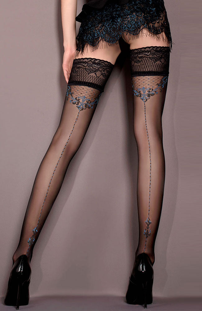 Ballerina 415 Lace Top Hold-Ups