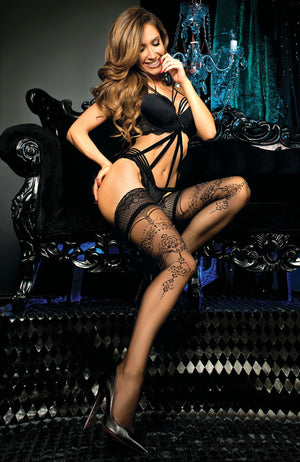 Ballerina 442 Lace Top Hold-Ups