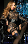 Ballerina 443 Lace Top Hold-Ups