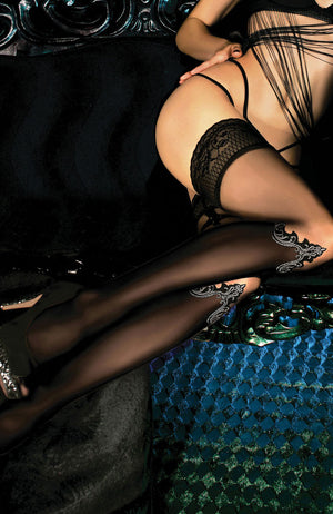 Ballerina 449 Lace Top Hold-Ups