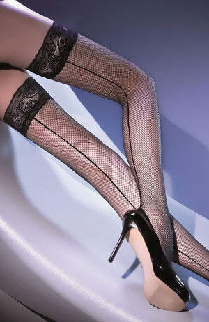 Beautiful Gabriella Fishnet Hold Ups