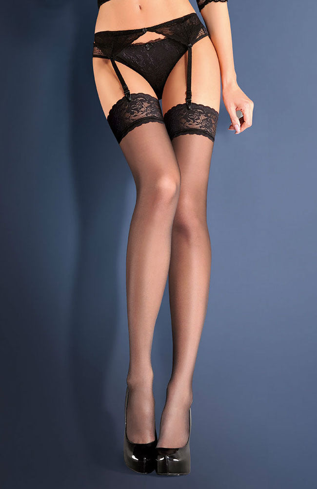 Gabriella 220 Calze Shadow Hold-Ups