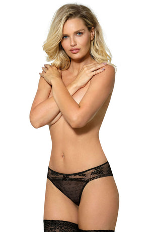 Roza Rosi Black Briefs