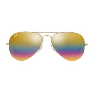 Unisexsolglasögon Ray-Ban RB3025 9020C4 58 BRZ/SIL (58 mm)