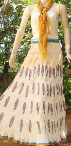 Stunning Cotton long skirt