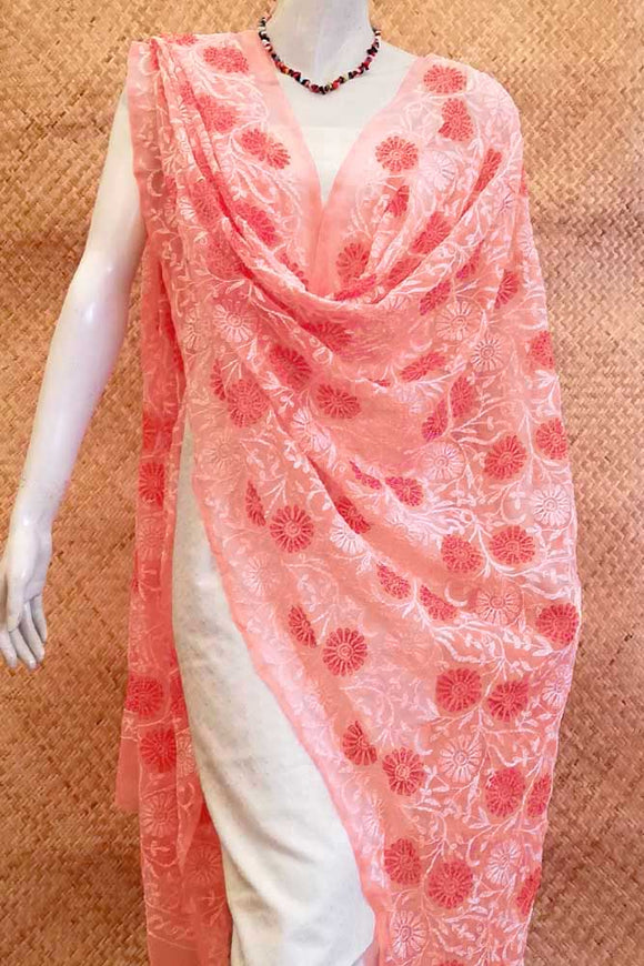Elegant Georgette Dupatta with Tepchi work