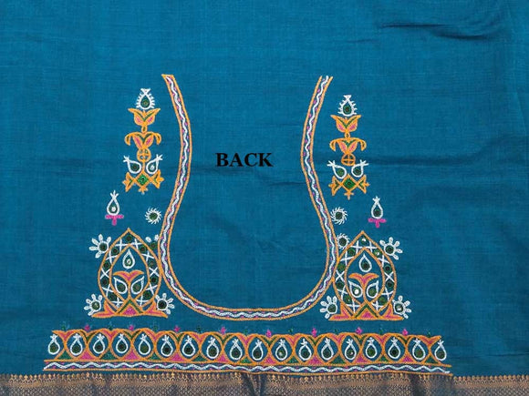 Kutch Hand embroidered Blouse Fabric