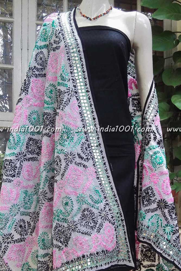 Gorgeous Embroidered Georgette Dupatta
