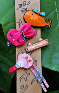 Cute Hair Accessories - Combo 12