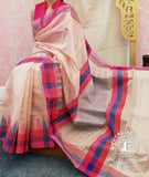 Fine & Elegant Handwoven Silk cotton Saree