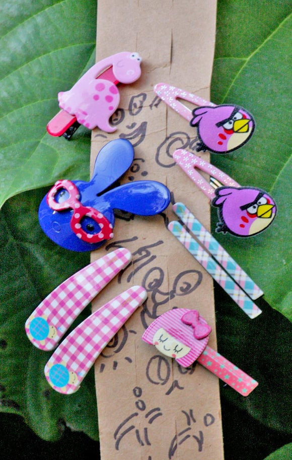 Cute Hair Accessories - Combo 14