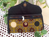 Handcrafted Kutch Leather & Mashroo wallet/purse