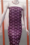 Desi Tussar kurta fabric with Hand done shibori work - 2.5 mtrs