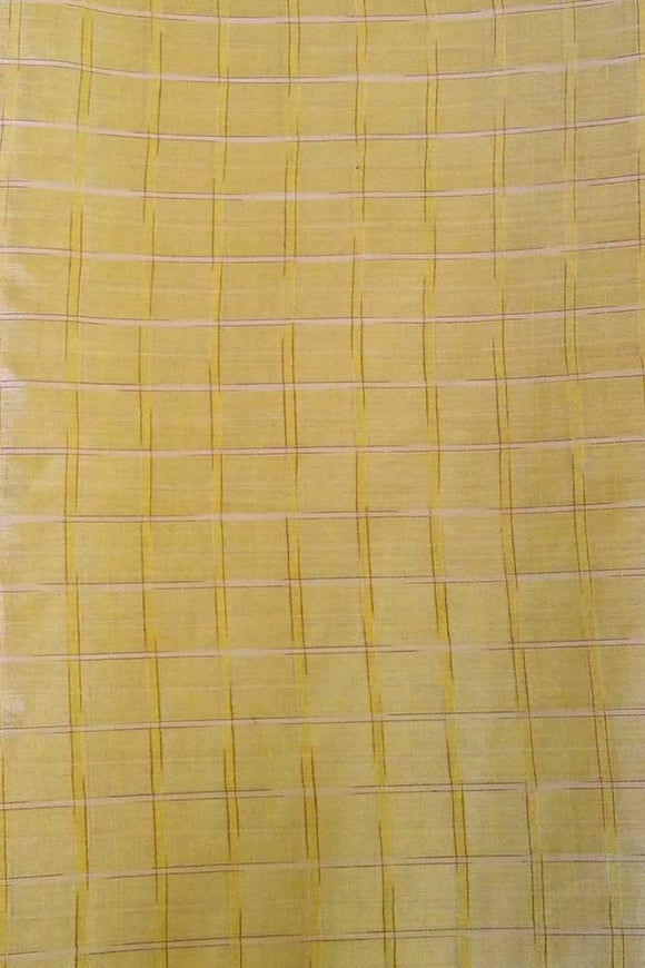 Fine Tussar silk running fabric