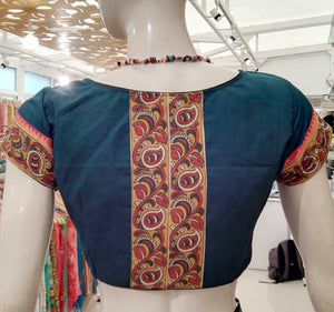 Cotton Blouse with Patch work