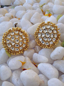 Designer and fine Kundan Earrings