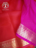 Elegant Soft Silk Saree with Zari Border