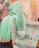 Beautiful Woven Chanderi Saree