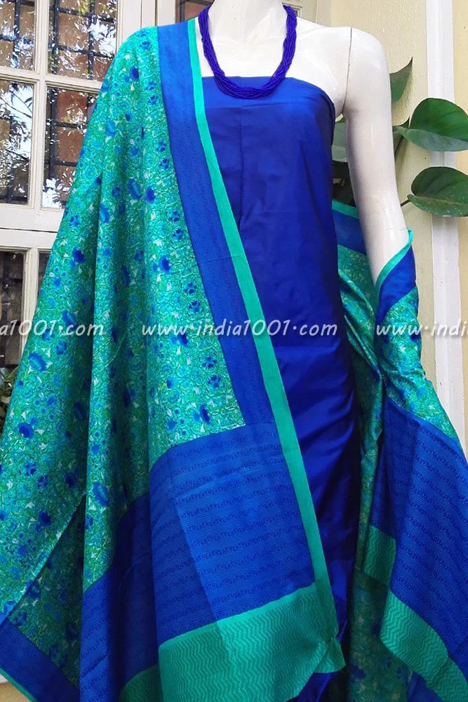 Silk Dupatta & Kurta Fabric