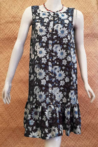 Elegant Block Printed Cotton dress
