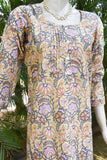 Hand Block Printed Cotton Kurta