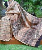 Classic Bagh Hand Block Printed Chanderi saree