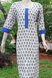 Block Printed Cotton Long Kurta