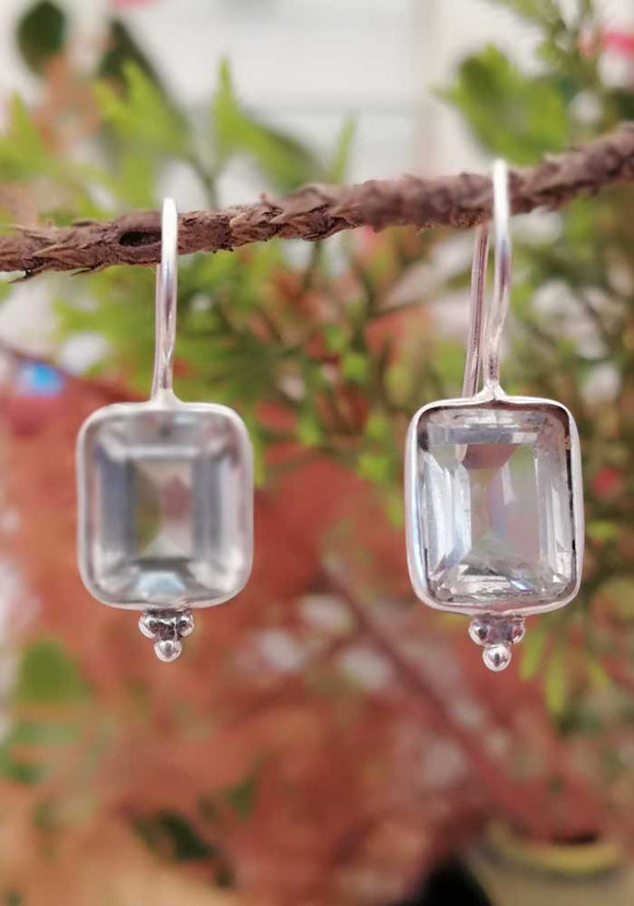 Elegant Sterling Silver Earrings