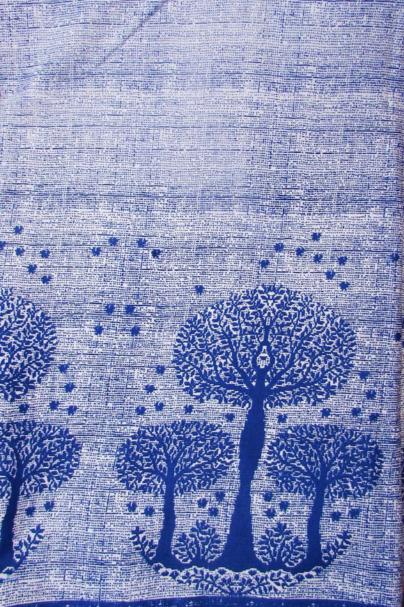 Block Printed Cotton Running Fabric