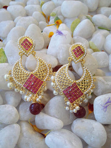 Designer and Polki Earring