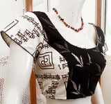 Block Printed  Cotton Blouse - Size 38 , 40