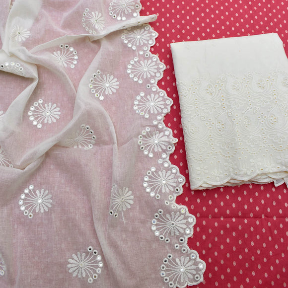 Elegant Unstitched Cotton suit fabric