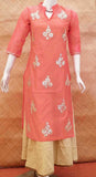 Elegant Chanderi and Rayon Dress