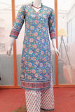 Elegant Block Print Cotton Kurta  & bottom - Size -38,  40