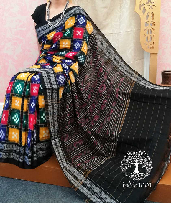 Multicolour Sakta Pasapalli Cotton Saree ( without BP)