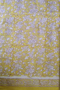Block Printed Cotton Cut  ( Blouse ) Fabric