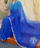 Elegant Chiffon Saree with Embroidery