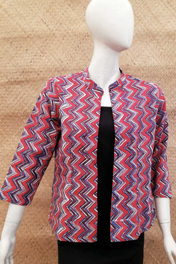 Block Printed Jacket