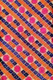 Hand Embroidered Phulkari blouse fabric